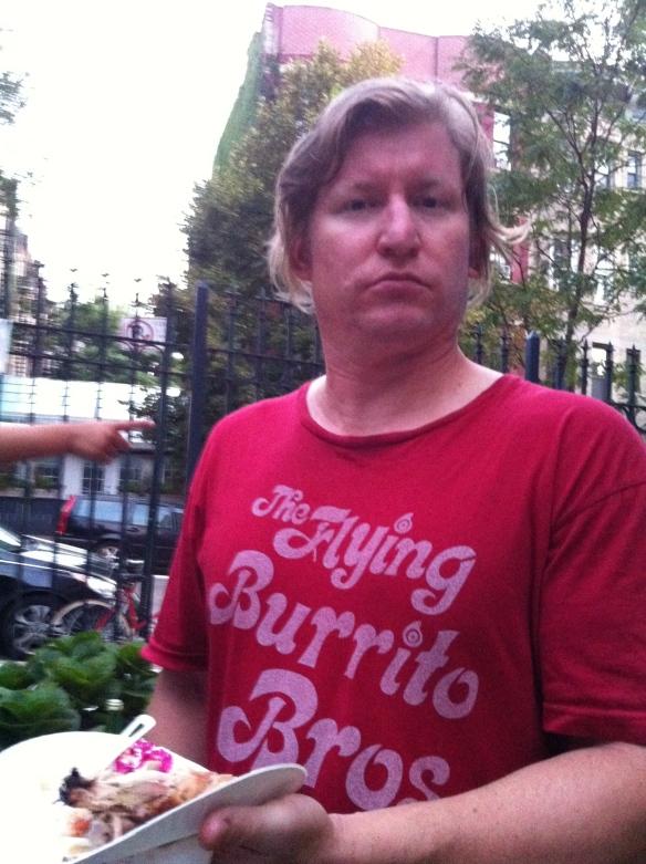 Matt as potluck guest