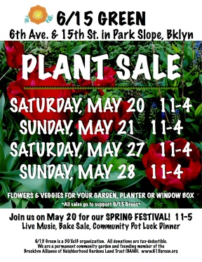NEW DATES-2017 SPRING PLANT SALE FLYER tulips